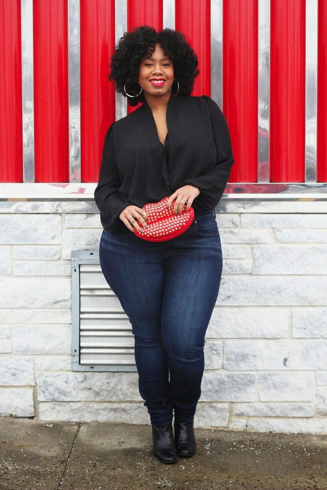 The Best Fitting Plus Size Skinny Jeans EVER | We're giving you ...