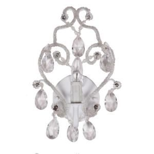 tadpoles 1 light white sconce chandelier chandeliers lights and room