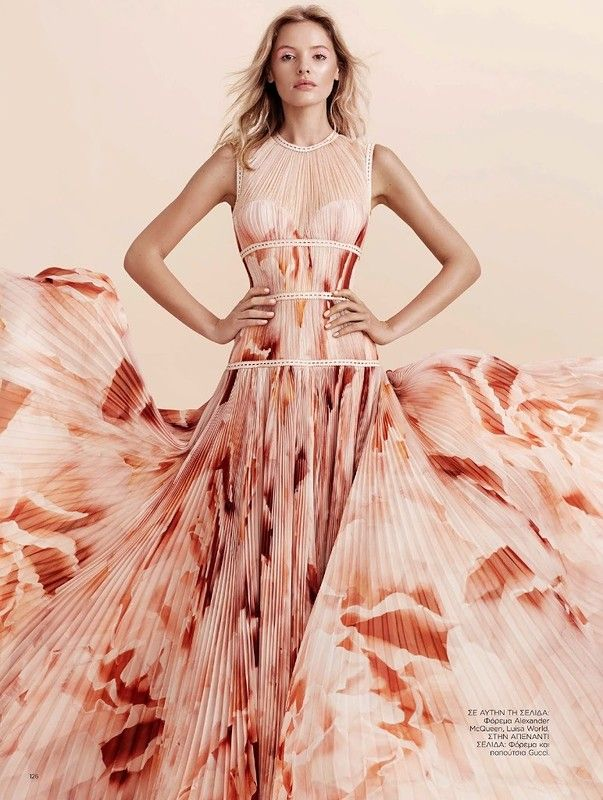 Paige Reifler for Harper's Bazaar Greece January 2016: myfashion_diary