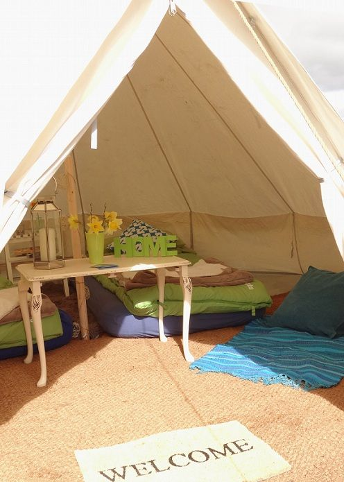 Group Accommodation in your mini bell tent village with BellAbode & Group Accommodation in your mini bell tent village with BellAbode ...