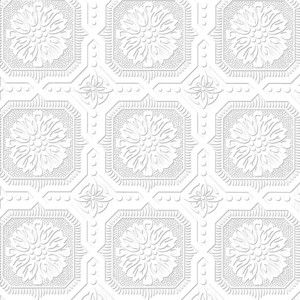 Allen Roth Paintable Ceiling Tiles Wallpaper Polyvore Tile