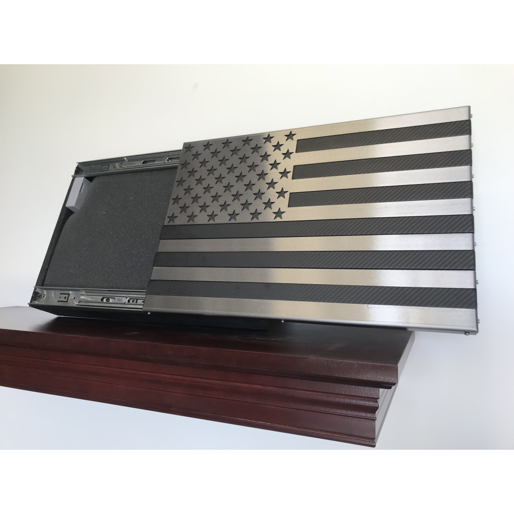 Carbon Fiber Freedom Cabinet Slider With Invisible Rfid Lock And Key Cards Carbon Fiber Lock And Key Sliders