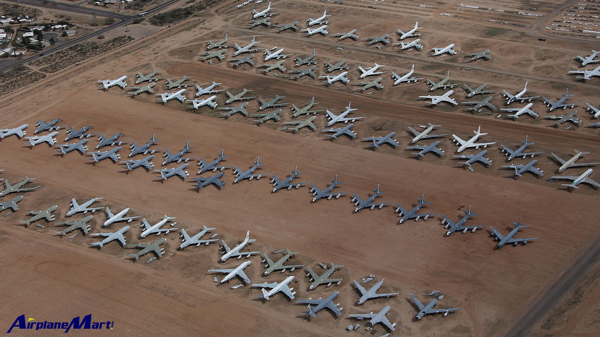 Military Aircraft Graveyard Davis Monthan Air Force Base