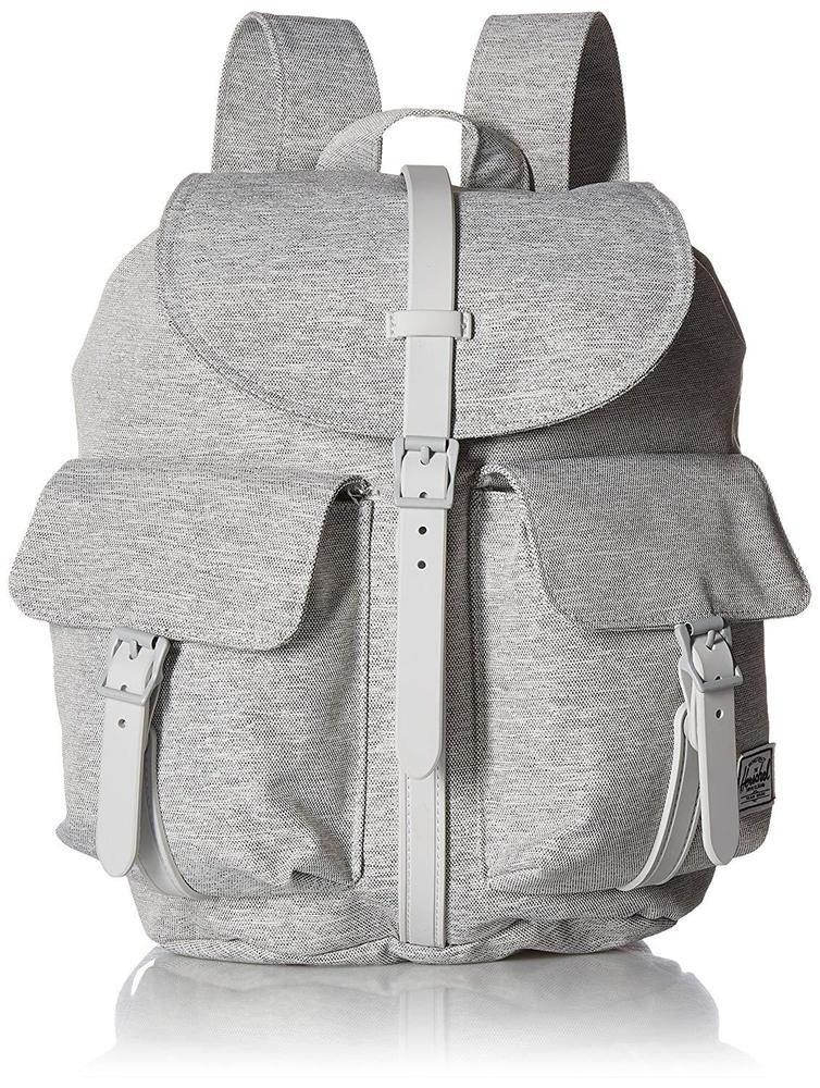 30ab98c5b39 Dawson XS Backpack Light Grey Crosshatch Magnetic Flap Bag  Herschel   Backpack  fashion  statement  gray  beauty  stylishbags  fannypacks  travel   kids   ...