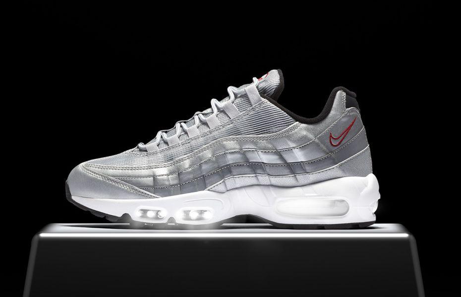 Nike Air Max 95 OG Silver Bullet - http   www.soleracks. 2ce64e165