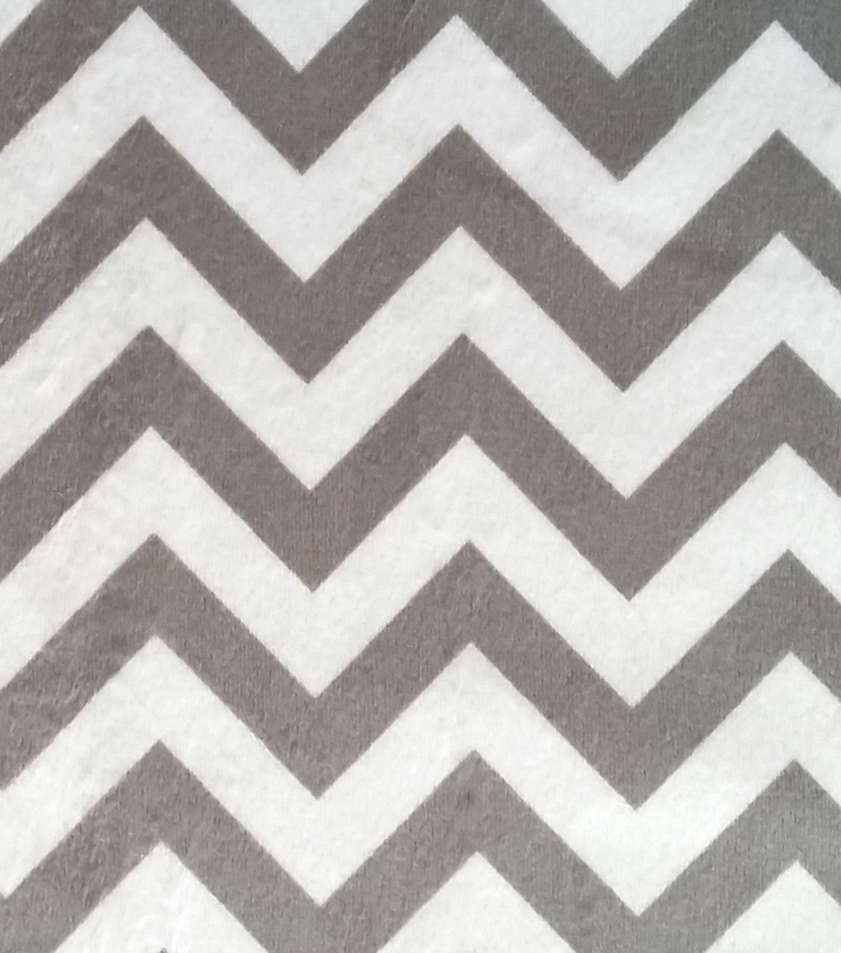 Soft N Comfy Fabric Gray Chevron | Fabric Finds with JOANN | Pinterest