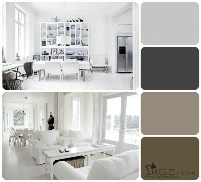 Aprende a escoger tu propia paleta de colores dado - Gama de colores grises ...