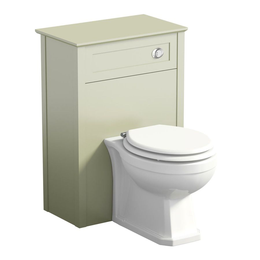Camberley sage back to wall toilet unit offer pack | Back ...