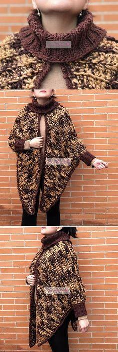 87a9cb43d Hermoso saco tejido con dedos en forma triangular com Laura Cepeda ...