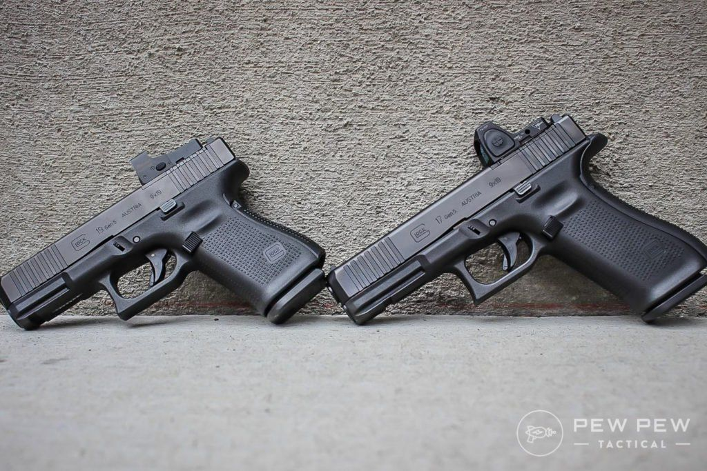 Review] Glock G45, Gen 5 G17 MOS, & G19 MOS | Glock | Hand