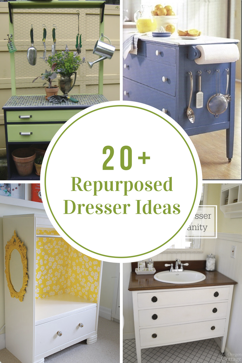 30 Upcycled Sweater Tutorials With Images Repurposed Dresser Recycled Dresser Refurbished Furniture