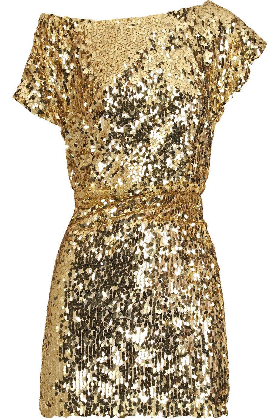 Gold Sparkle Dress