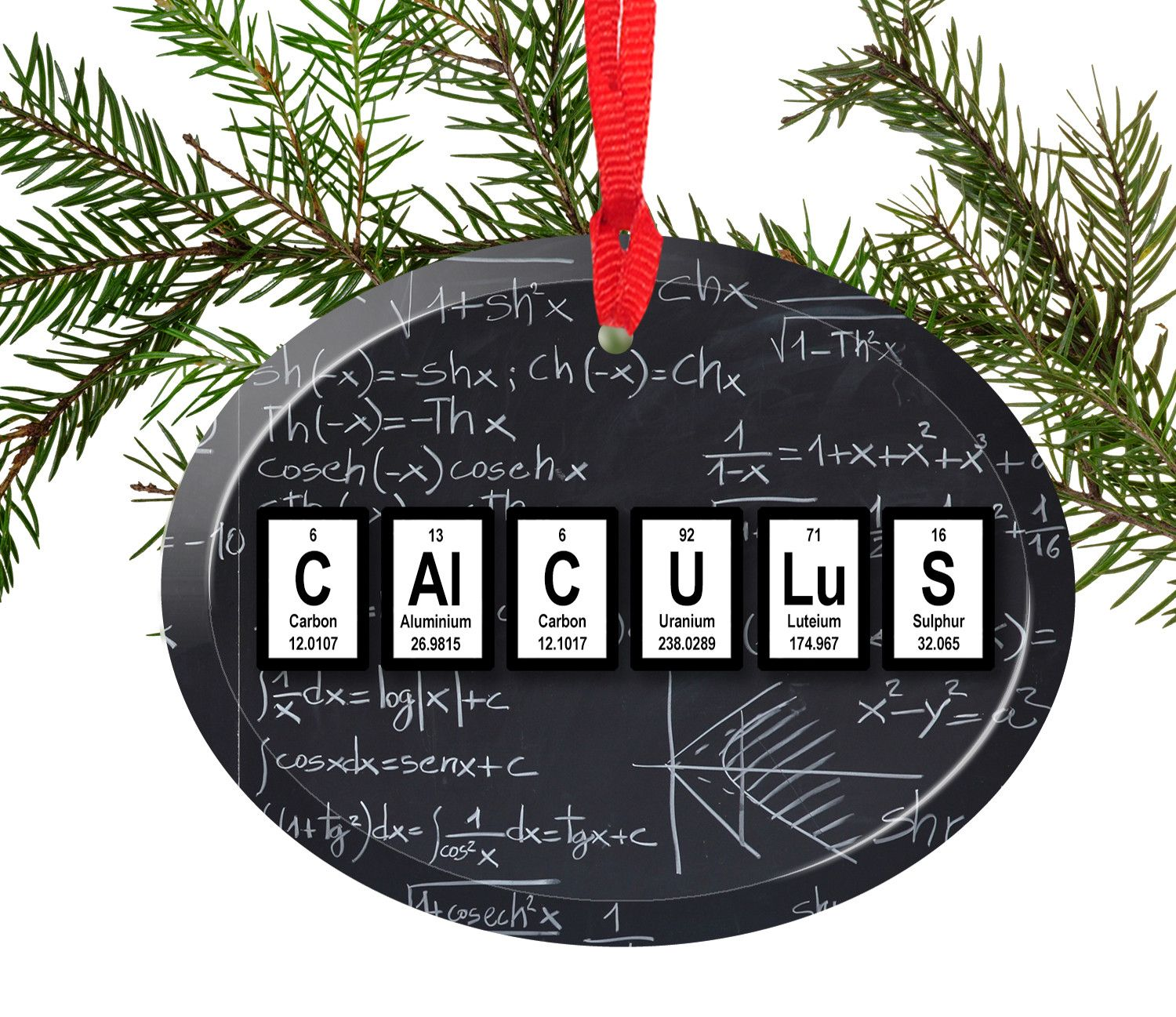 Calculus periodic table of elements glass christmas ornament calculus periodic table of elements glass christmas ornament urtaz Choice Image