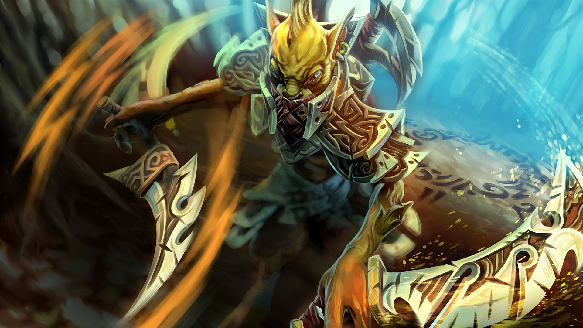 Bounty Hunter Hunty Bounter Wallpaper Dota 2 Hd Wallpapers Dota 2 Heroes Runes