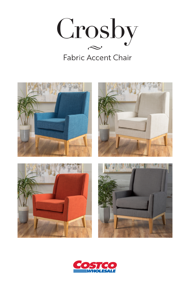 Mid Century Style With Modern Comfort The Crosby Fabric