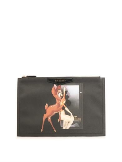 4144d3fd09 Antigona Bambi-print medium clutch | Givenchy | MATCHESFASHION ...