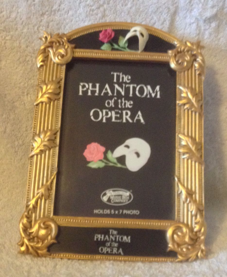 San Francisco music box. Phantom of the Opera photo frame.
