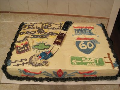 60th birthday cake by graciepie hot rod chevy route 66 pin stripe beer old man 39 s birthday. Black Bedroom Furniture Sets. Home Design Ideas