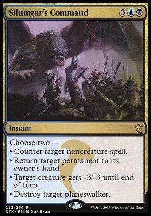 Innistrad ~ STONY SILENCE rare Magic the Gathering card