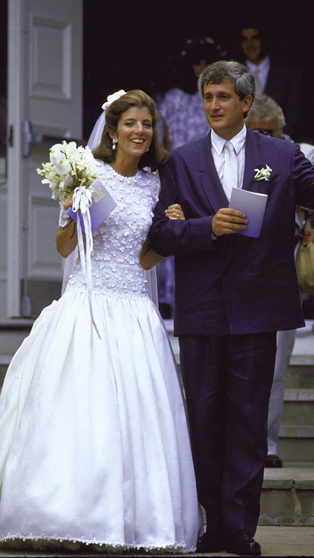 The best dressed celebrity brides of all time caroline for Tatiana schlossberg wedding dress