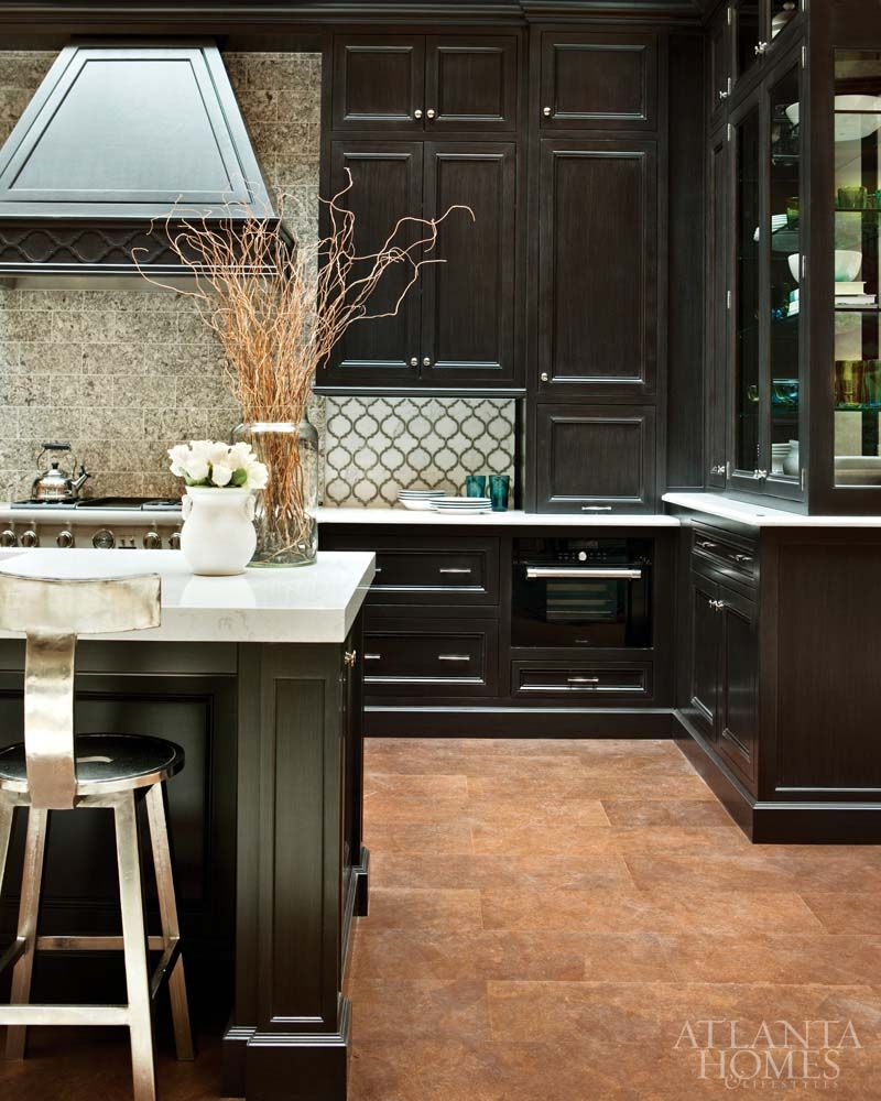 Kitchen Art Lebanon: Love Dark Cabinets. We Painted Ours And Achieved A Similar
