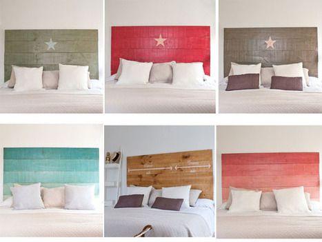 cabeceros de cama artesanales vintage mil ideas de decoracin decoracin de interiores - Cabezales De Cama Caseros