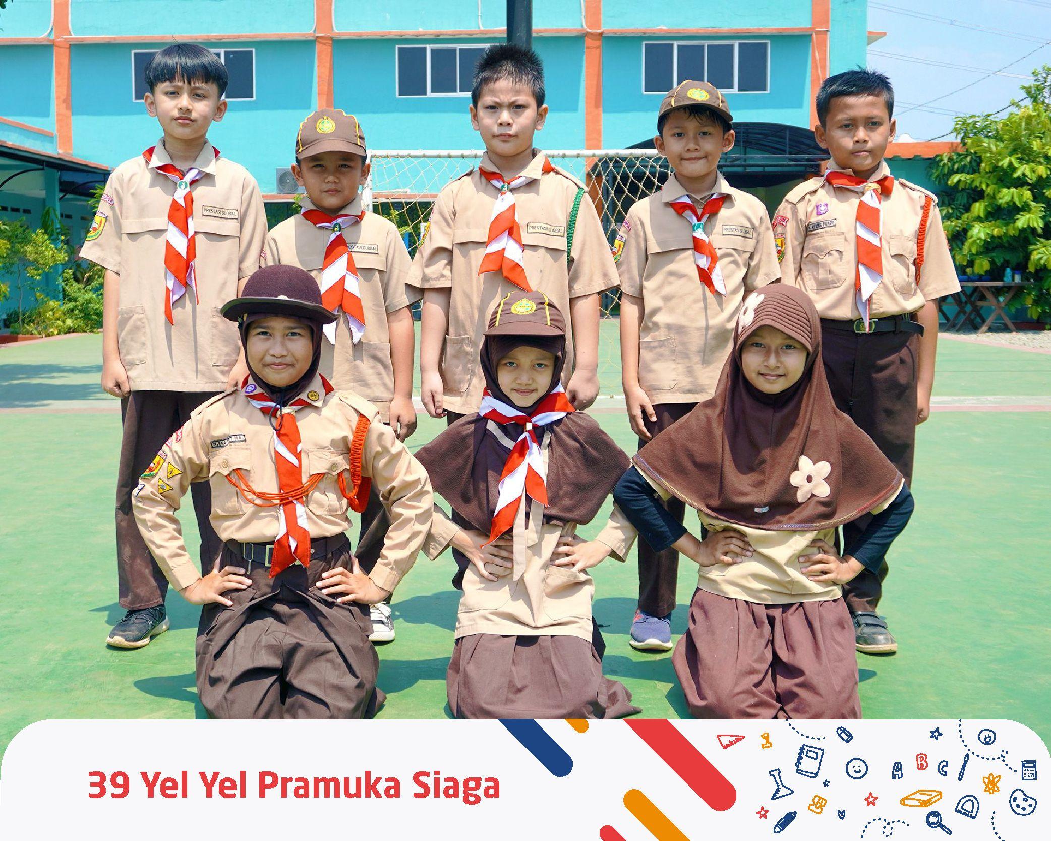 Kelas 3 Termasuk Pramuka