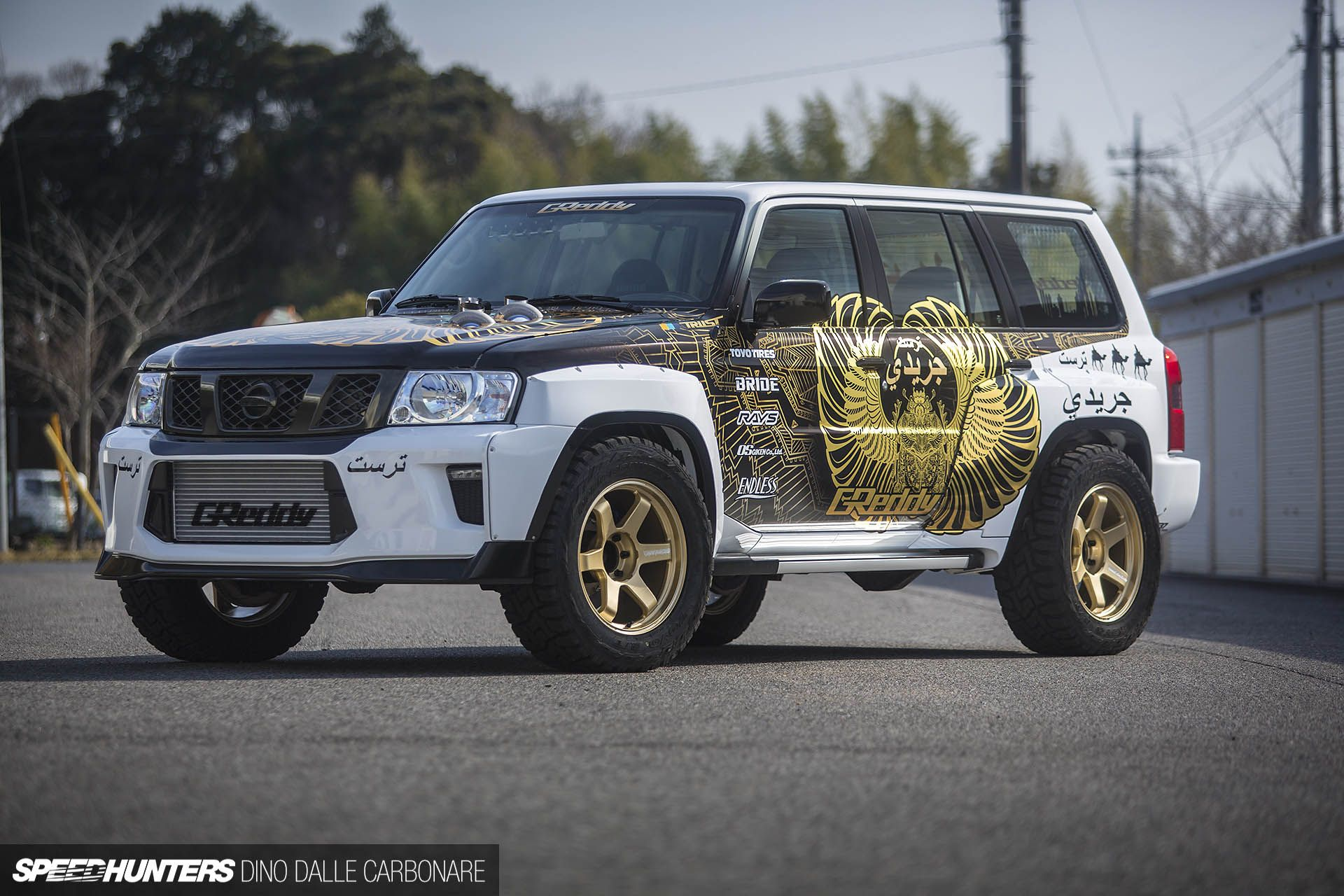In Trust We Trust The 2 000hp Suv Speedhunters Nissan Patrol Suv Car Culture