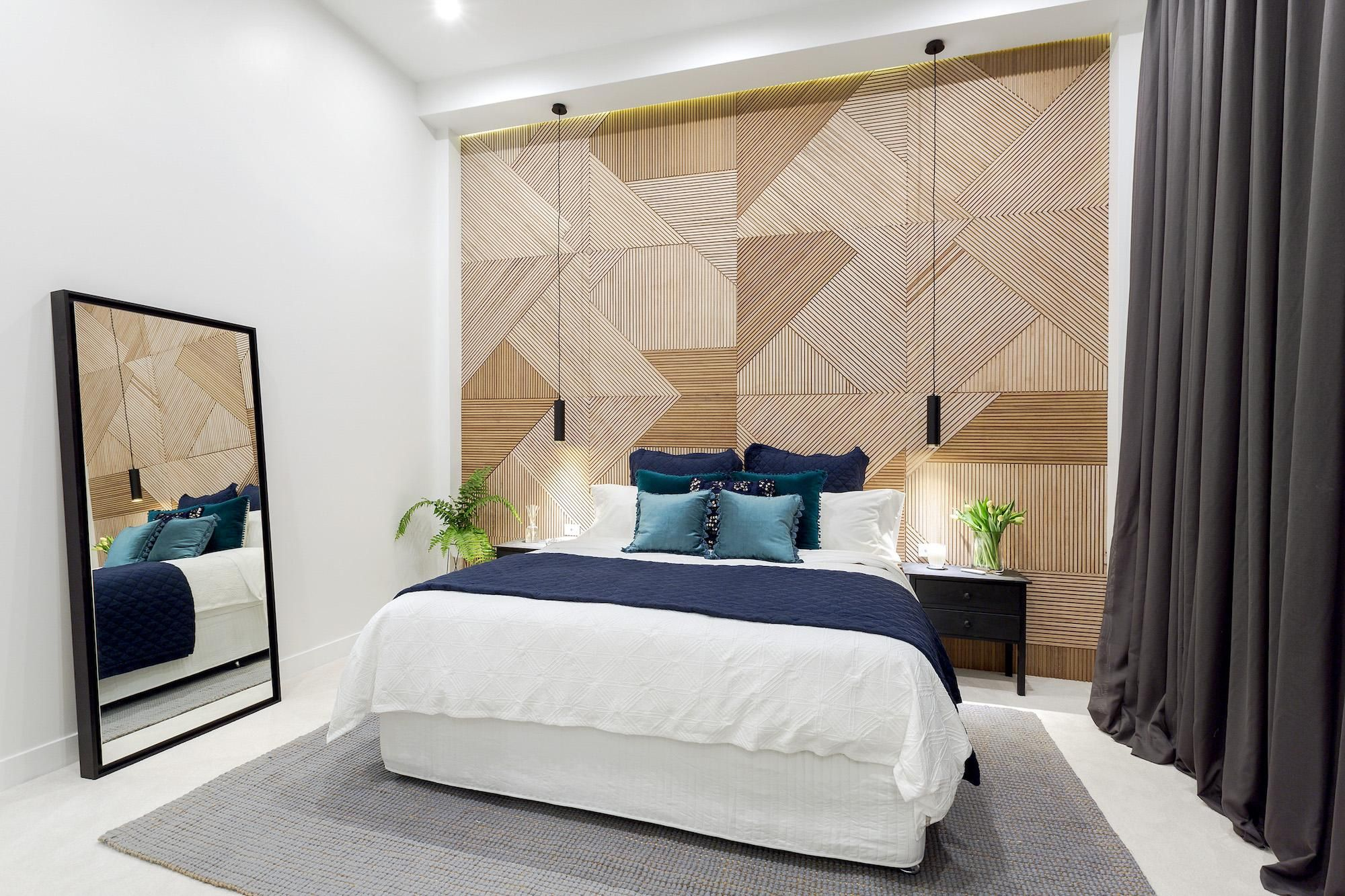 Master Bedroom Feature Wall Will Karlie Week 6 Master Bedroom The Block 2016 Pinterest