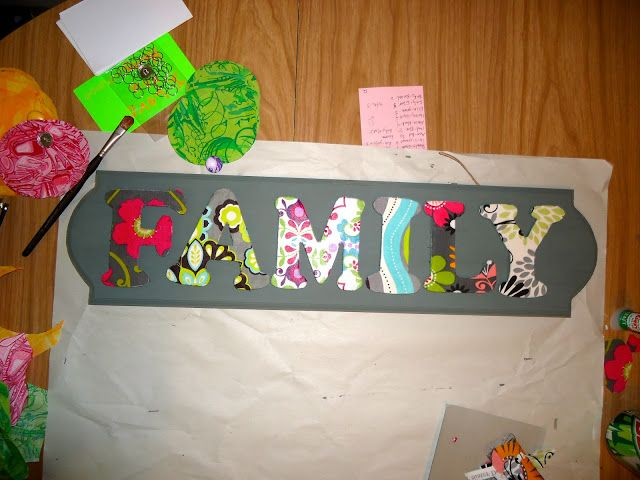 Family Dates Sign | A Crafty Escape