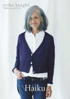 Erika Knight Haiku Cardigan Knitting Pattern How To Purl