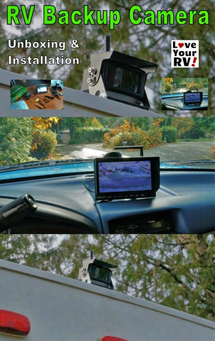 Installing A Tadibrothers Wireless Rv Backup Camera System Rv Mods