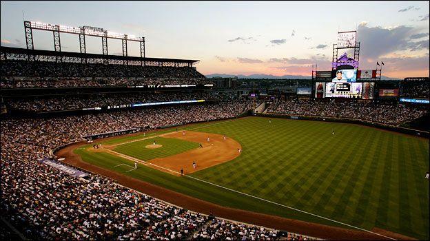 Coors Field Visit Colorado Field