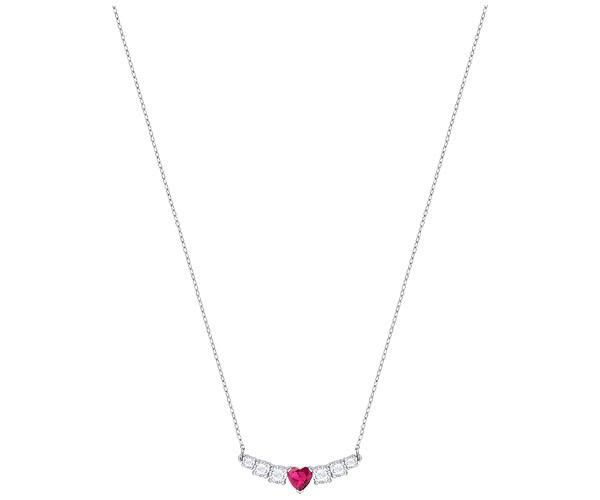 aa27853b0 Swarovski Love Necklace, White, Rhodium plating, 5408434 | Duty Free Crystal  | Duty Free Crystal