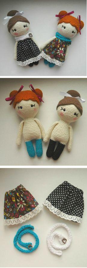 Crochet Dolls Free Patterns Amigurumi Video Tutorial   Puppen ...
