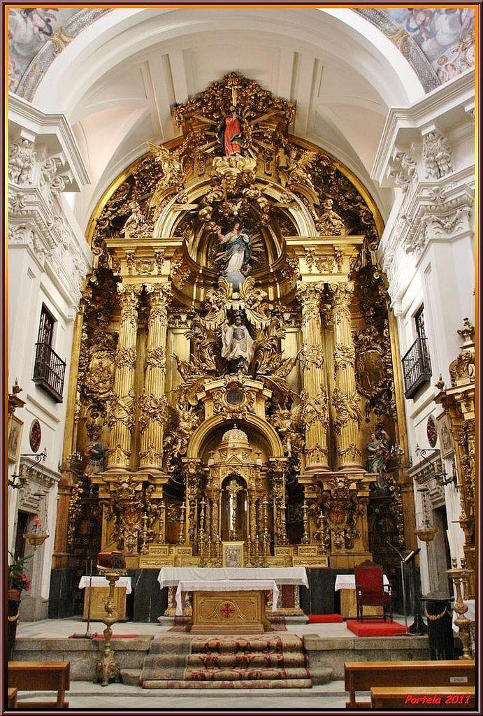 El Antiguo Convento De La Concepción Real De Las Monjas Comendadoras De La Orden De Calatrava Situado Al Arquitectura Sagrada Iglesia Arquitectura Religiosa
