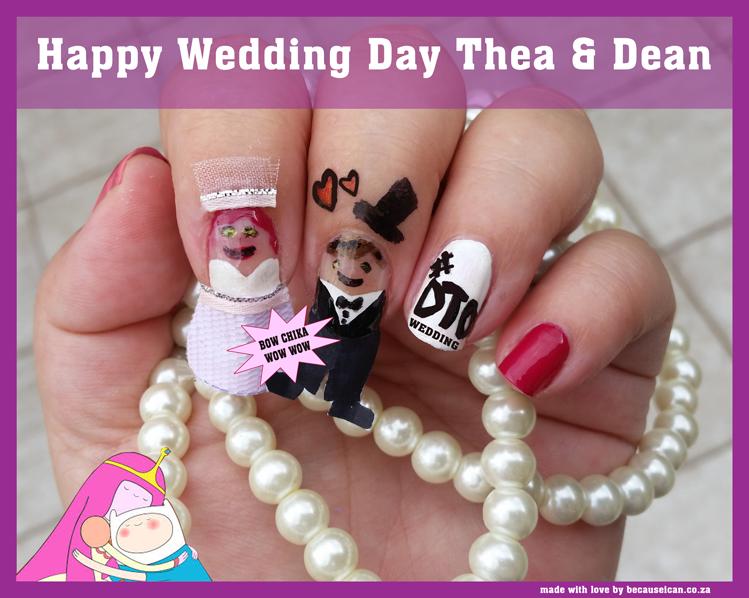 Wedding Bells Nails Nailart Dtowedding Nail Art