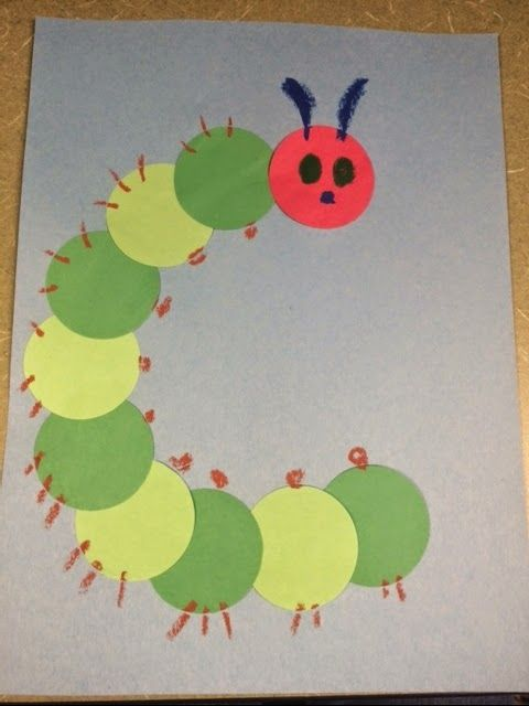 craft for Summer Family Storytime: C is for Caterpillar