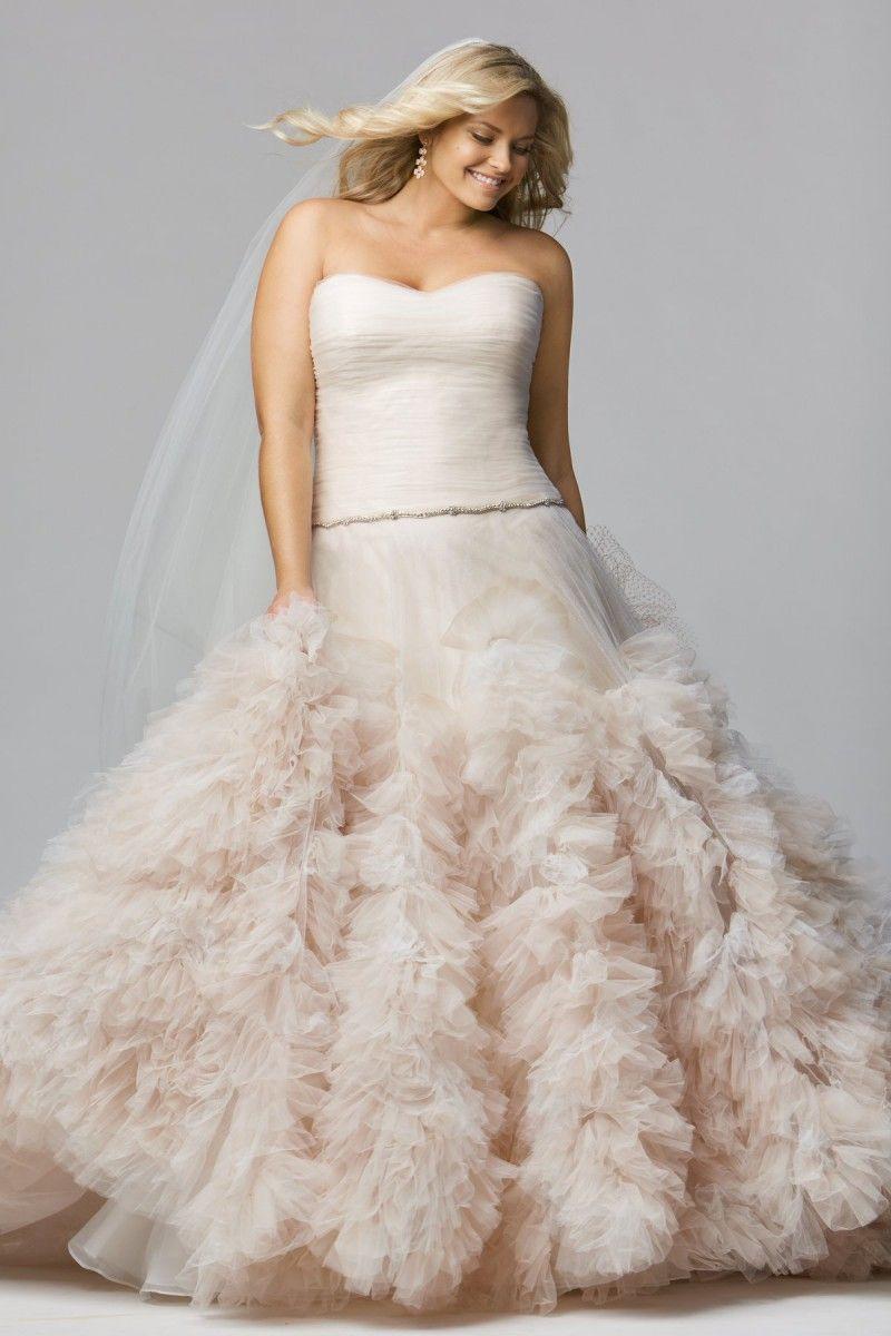 Wedding dresses for curvy brides  The Curvy Fashionista  For the Plus Size Bride Wtoo Curve Plus
