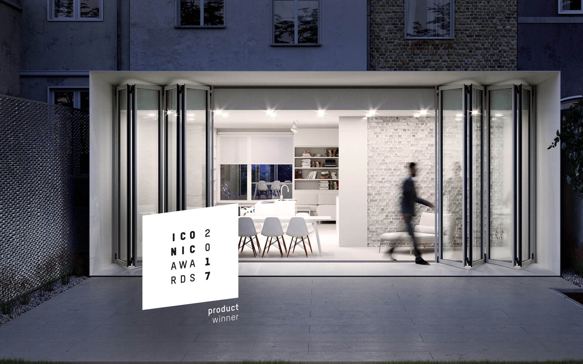 Faltwand und Falttüren aus Glas, Aluminium und Holz | Verglasung ...