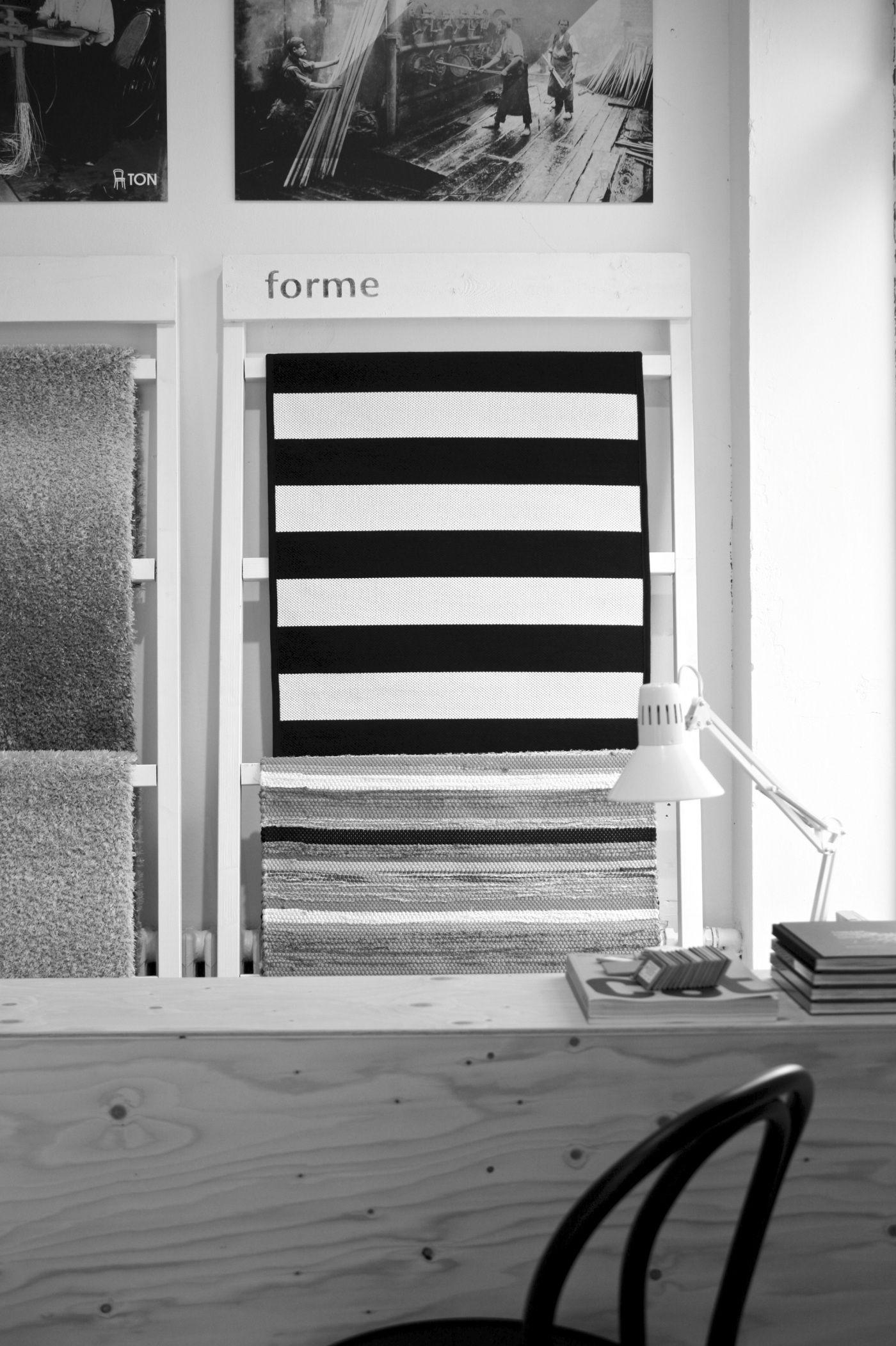 homevialaura | Forme Helsinki | striped carpet