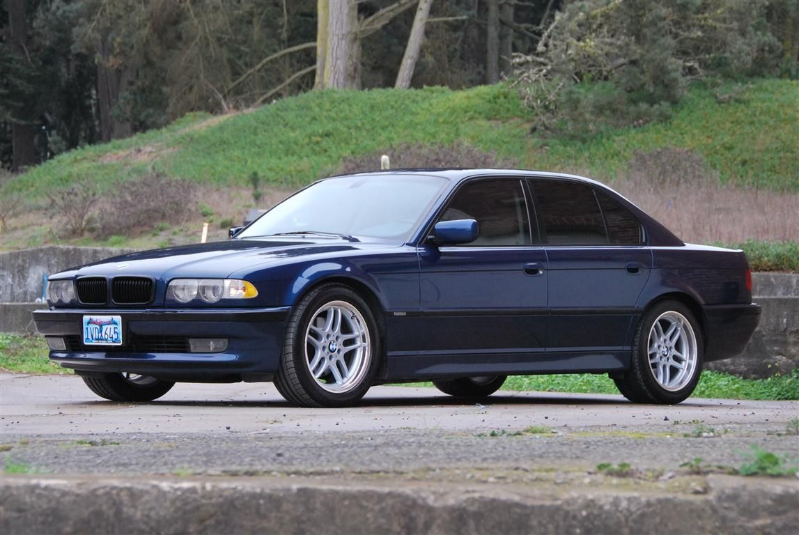 2001 BMW 740i Sport for sale « The Motoring Enthusiast in 2021 | Bmw e38,  Bmw, Bmw 740
