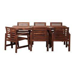 Muebles de comedor para exterior - Juego de comedor - IKEA ...