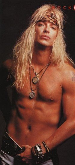 Long Blonde Hair But Who Is This Bret Michaels Bret Michaels