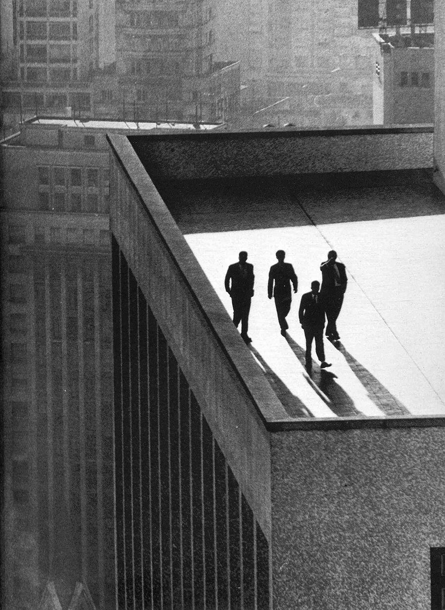 Rene Burri Sao Paulo Brasil 1960 White Photography Street