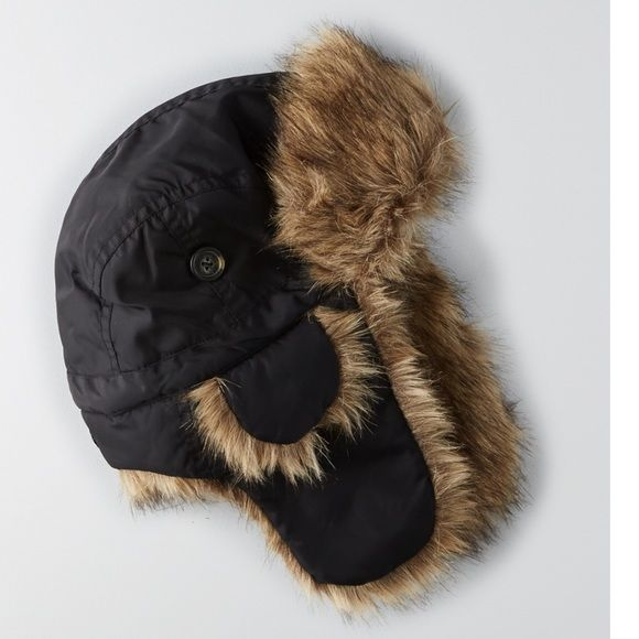 New American Eagle Mens Trapper Hat Brand new American Eagle Outfitters  Accessories Hats 616c96b5233d