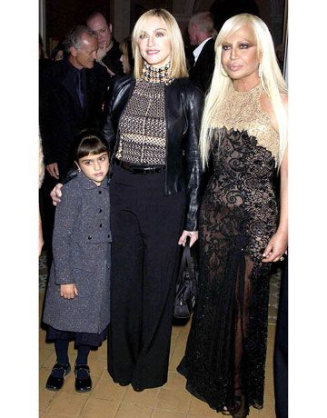 Madonna S Most Iconic Looks Fashion Gianni Donatella Versace