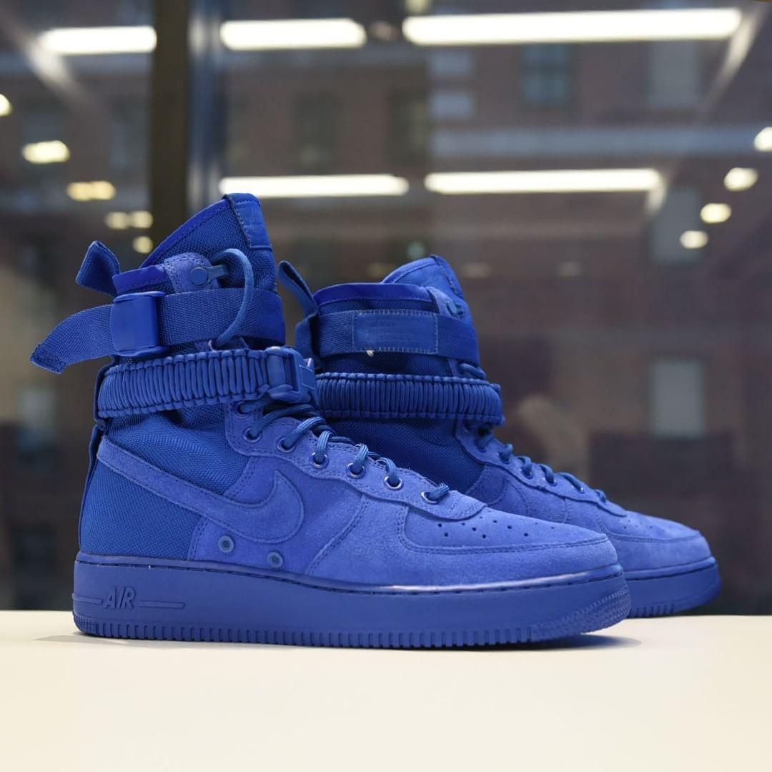 "best sneakers f354f fbd9c ""🔵The Nike SF AF-1"