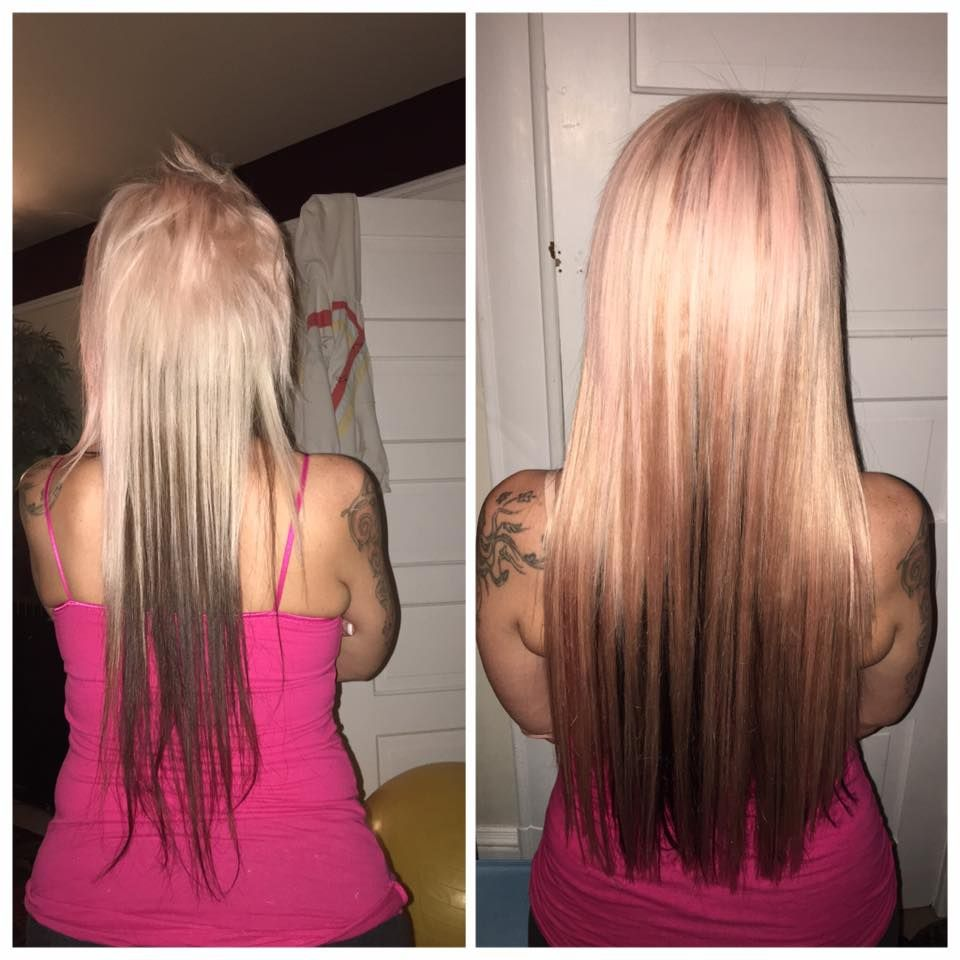 Pink Hair Extensions Done At Pdx Hair Extensions 503 230 8952hair