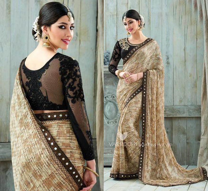 bollywood pakistani asian indian designer wedding party latest saree blouse sari #Handmade #SariSaree
